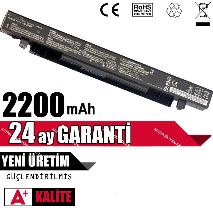 Asus X552L Uyumlu Laptop Bataryası, Pil