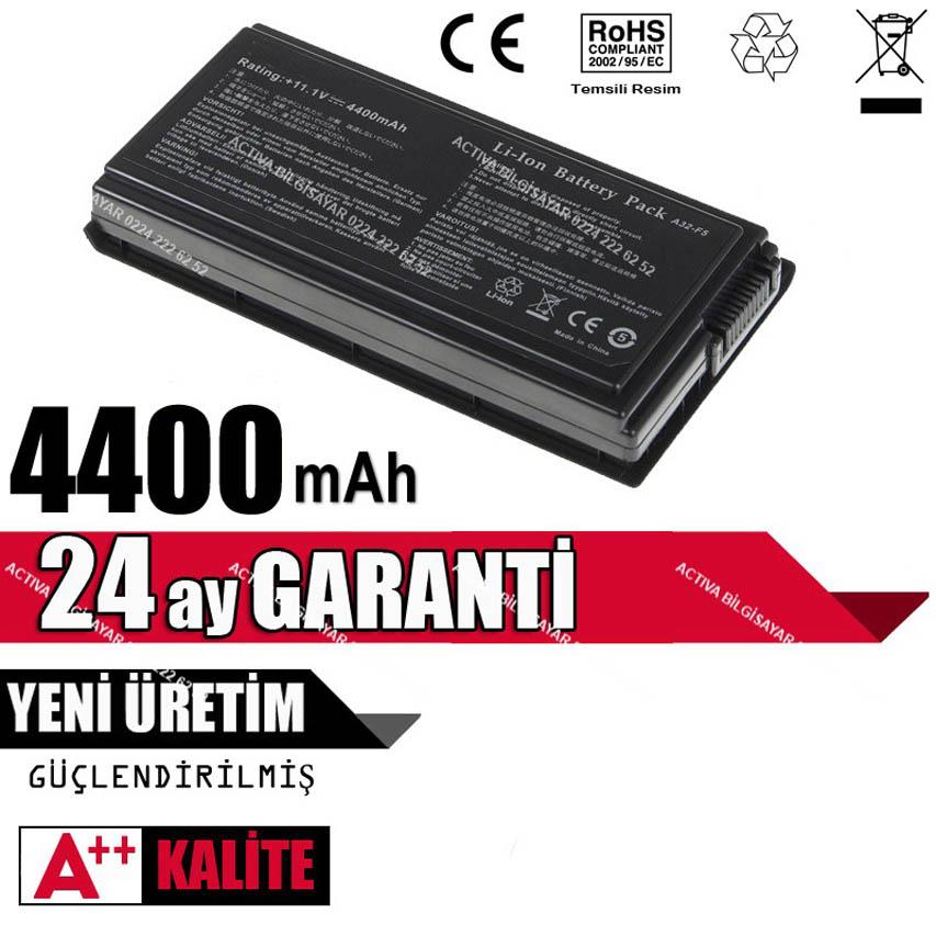 ASUS X59 X59G X59GL X59S X59SL X59SR Batarya Pil A32-F5
