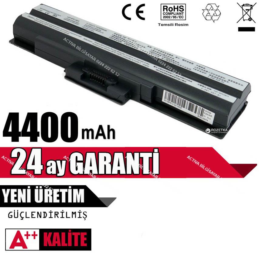 Sony VGN-AW11M VGN-AW220J VGN-AW41MF VGN-AW190 PCG-8131M Batarya Pil Siyah
