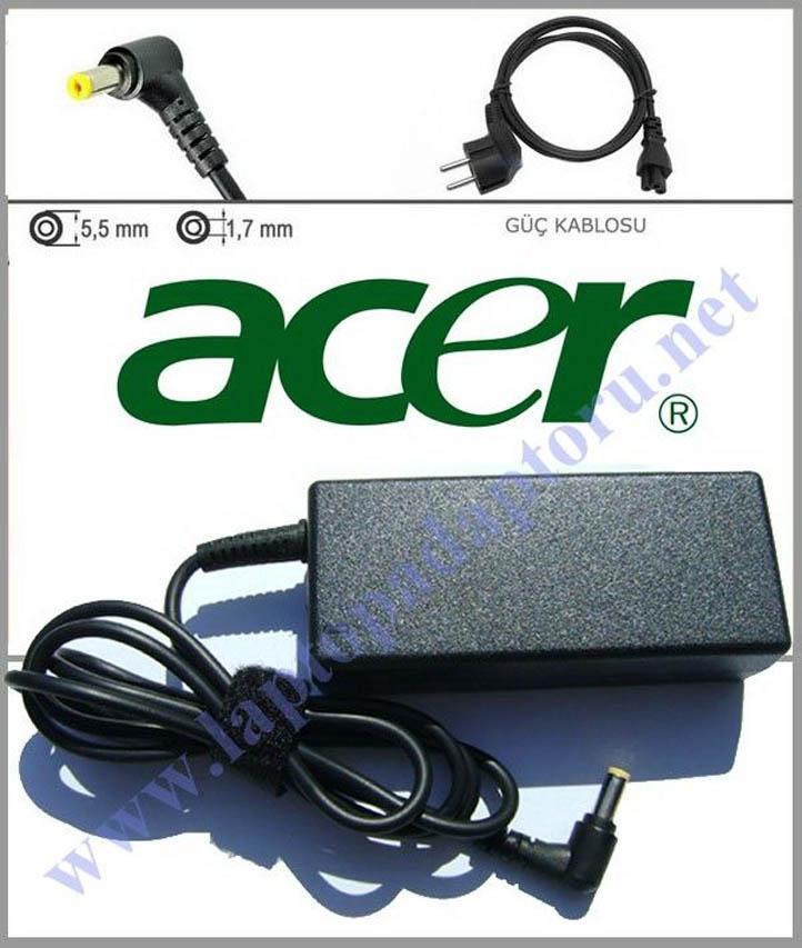 Acer E5-574-52BJ Uyumlu 19V 3.42A Laptop Şarj Aleti, Adaptör