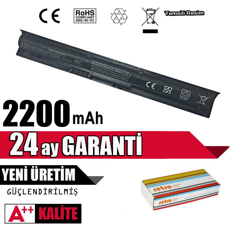 RETRO Hp ProBook 450 G3, RI04, P3G15AA Notebook Bataryası - 4 Cell