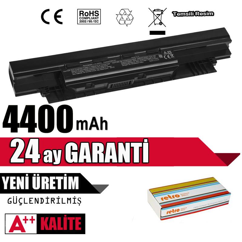 Asus PRO552LA, PRO552SA, PRO553UA, PRO553UJ, PU450CD PU451JF Batarya Pil