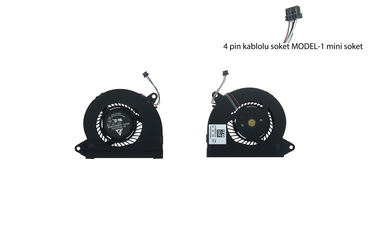 Asus Zenbook UX21 UX21E UX21A UX21EP Laptop Fan MODEL-2 Fan Soket Small
