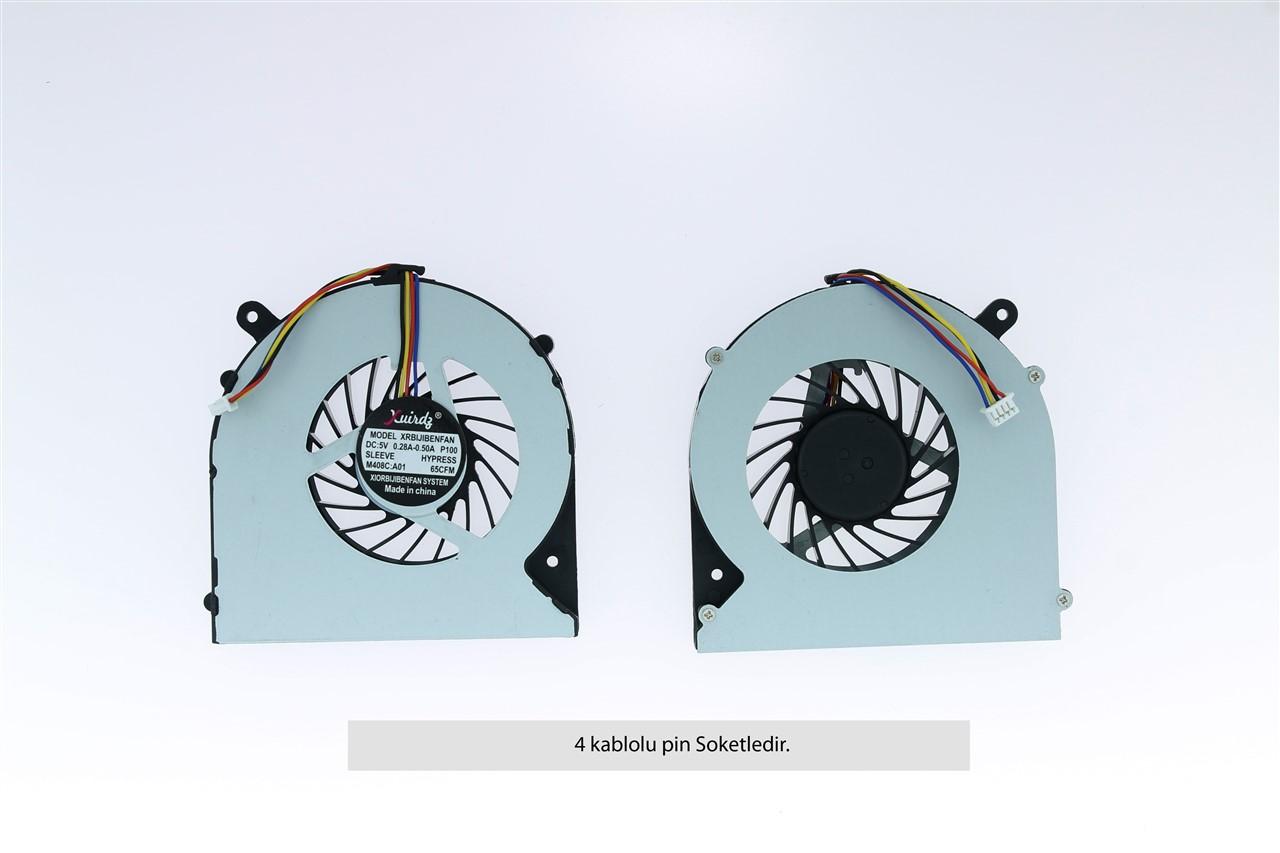 Toshiba Satellite L855-16X PSKFWE Uyumlu Fan Soğutucu