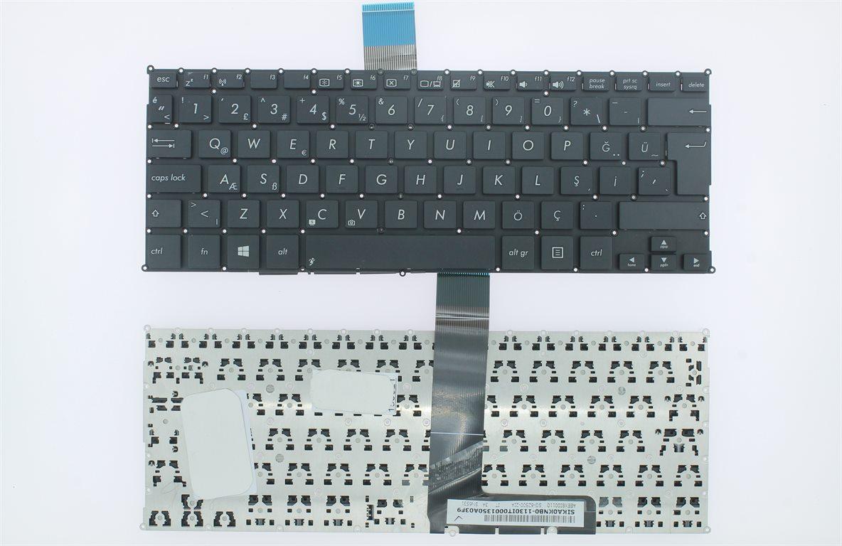 Asus X200CA, X200LA, X200MA Uyumlu Klavye Siyah Tuş Takımı