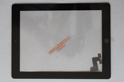 İPad 2 Dış cam A1395 Siyah