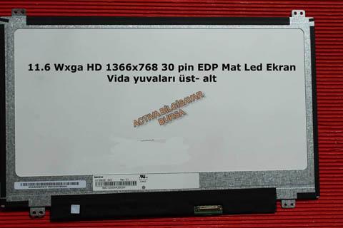 11.6 Wxga HD 1366x768 Mat Led B116XTN01.0 Uyumlu Ekran