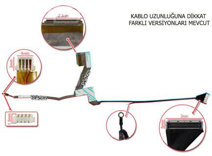 Compaq Mini 110c-1010ET LCD KABLO 6017B0232102