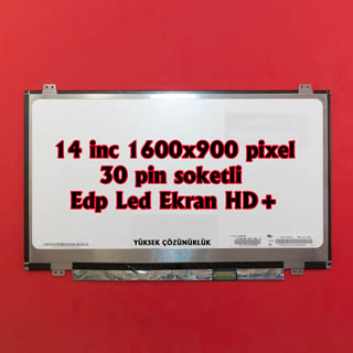 14.0 inc 1600x900 pin 30 pin Edp Slim Led Ekran
