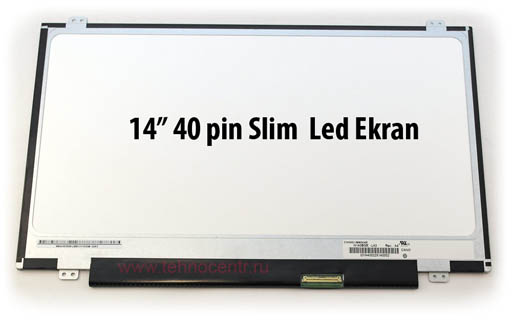 14.0 inc Wxga HD Parlak Slim 40 pin Led B140XW02 V.1 Uyumlu