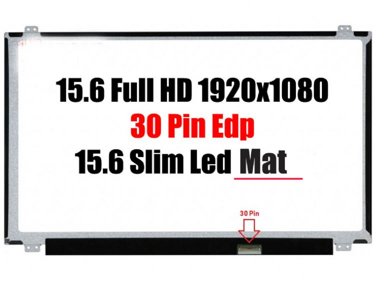 15.6 30 pin Full HD 1920x1080 Mat B156HTN03.0 Slim Led