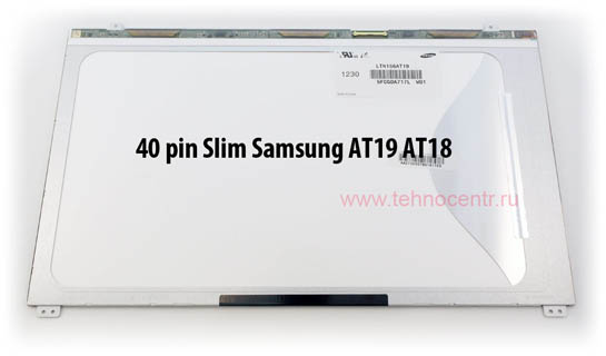 15.6 LED SLIM LTN156AT19 SAMSUNG