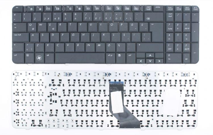 Compaq Presario CQ60-112EM Klavye Türkçe Siyah