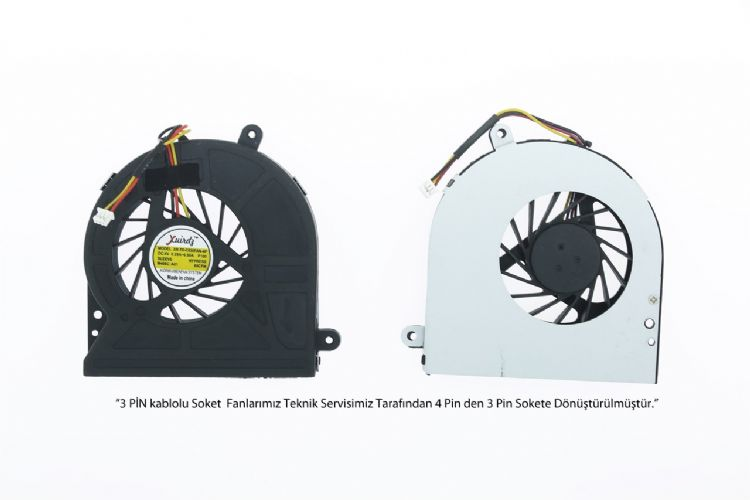 Toshiba Satellite C650, C650D, C655, C655D3 Fan 3 Pin MODEL-3
