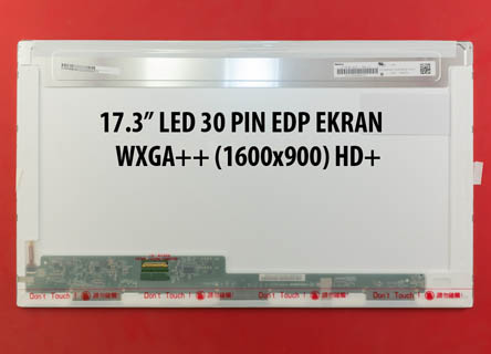 17.3 HD 1600x900 Led LP173WD1-TPE1 - 30 pin Edp 17.3 Standart Led
