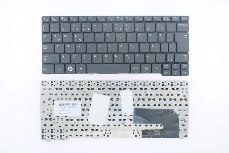 Samsung NP- N150, N128, N143, N145, N148, N158, NB20, NB30 Klavye Siyah