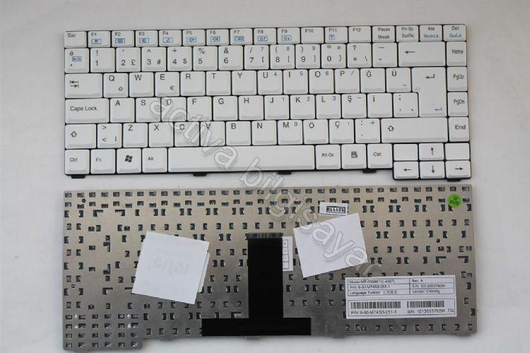 Casper Nirvana M760 Klavye Türkçe Beyaz