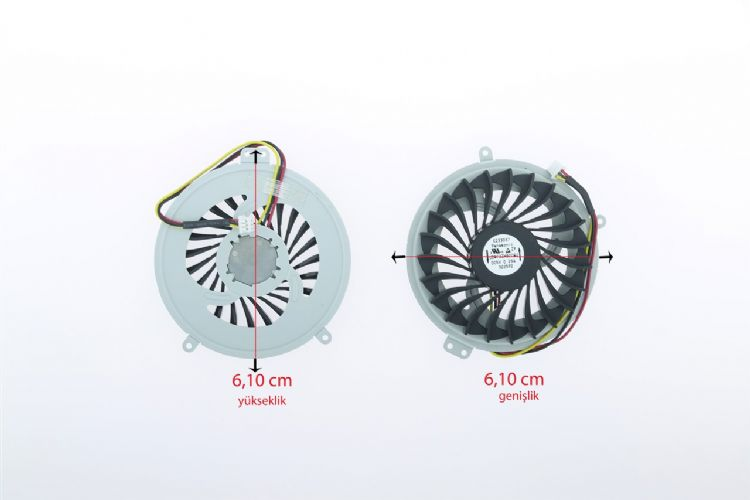 Fujitsu Lifebook AH530/GFX, AH530 Laptop Fan MODEL-1