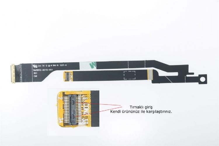Acer Aspire S3-951 Lcd Led Ekran Kablo