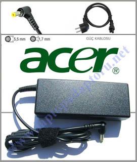 Acer 8730G-644G32Mn Laptop Uyumlu Adaptör, Şarj Aleti