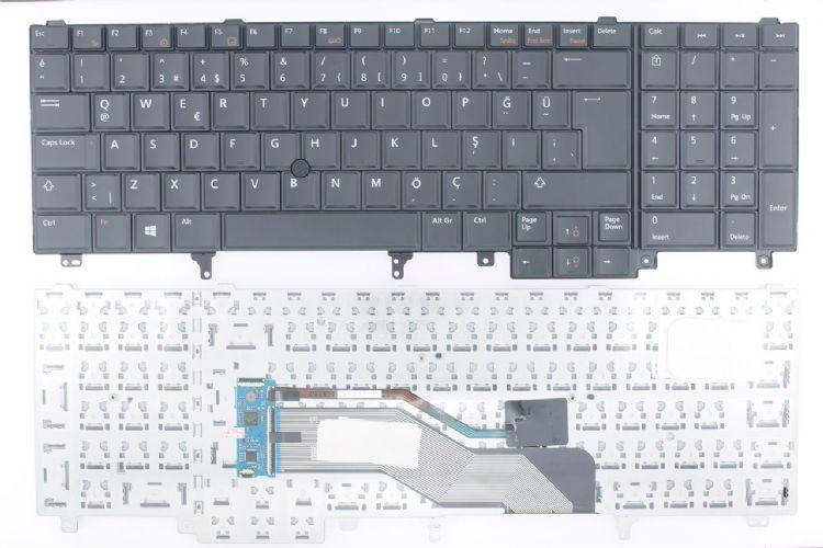 Dell Latitude E6520 Klavye, Türkçe Tuş Takımı