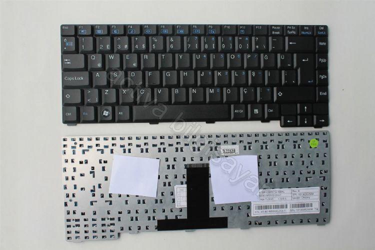 Exper M76s Klavye Türkçe Siyah