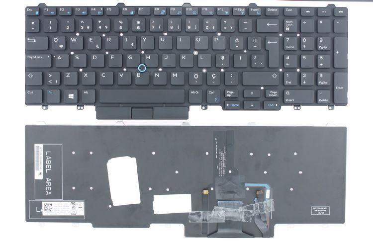 Dell Latitude E5550, E5570, E5580, E5590 Klavye