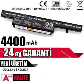 Exper 6-87-C480S-4P4 Notebook Bataryası