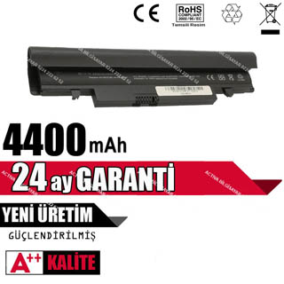 SAMSUNG NT-N148 (All)  BATARYASI, LAPTOP SİYAH  PİL