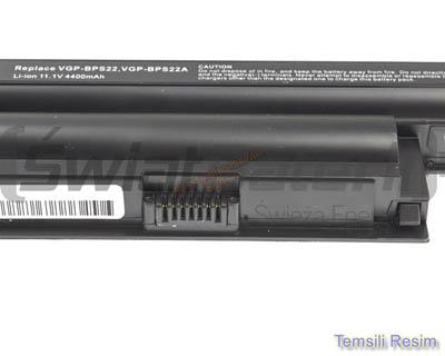 Sony Vaio VGN-NR21S Uyumlu Laptop Bataryası, Pili Resim 2