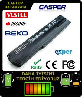 Casper Nirvana M54SE serisi Laptop Bataryası