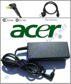 Acer Aspire M5 Z09 M5-481T-6488 laptop adaptör şarj aleti cihazı 19v 3.42a