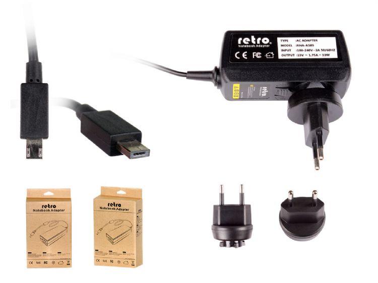 Asus R205TA, R209HA, R209TA, F205TA Uyumlu Adaptör Şarj Cihazı Resim