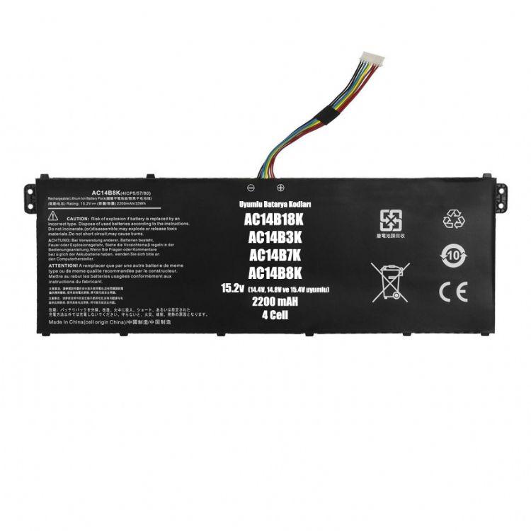 MS2392, NE511, NE512 Acer Packard Bell Uyumlu Batarya Pil