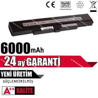 CASPER MT50 SİYAH 6 CELL WNBT.EC-MT50-6-S BATARYA