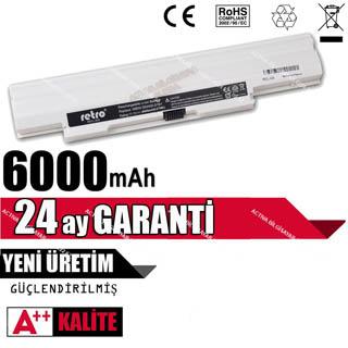 RECL-008   BAT071RETRO Casper MB50 Uyumlu Notebook Bataryası - Beyaz - 6 Cell
