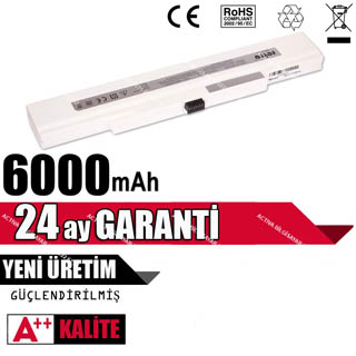 CASPER CMY.3210 NOTEBOOK PİL 6 CELL 6000 mAH BEYAZ