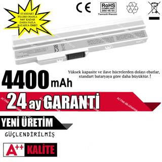 Casper BTY-S11, BTY-S12, 3715A-MS6837D1, 14L-MS6837D Laptop Batarya Pil Beyaz