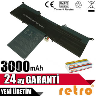 RETRO Acer Aspire S3-391, S3-951, AP11D3F Notebook Bataryası