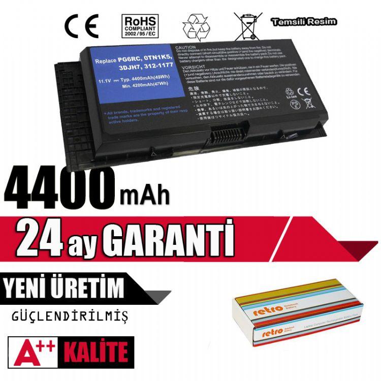 RETRO Dell Precision M4600, M4700 Notebook Bataryası - 6 Cell