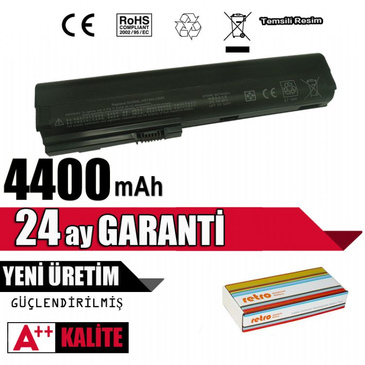 SX06055XL, SX06XL, SX09 Uyumlu HP Batarya Pil