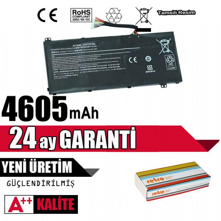 Acer Aspire VN7-571, VN7-571G, VN7-591, VN7-591G, VN7-791, VN7-791G Batarya Pil