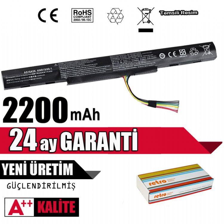 AS16A5K, AS16A7K, AS16A8K Acer Aspire Batarya Pil