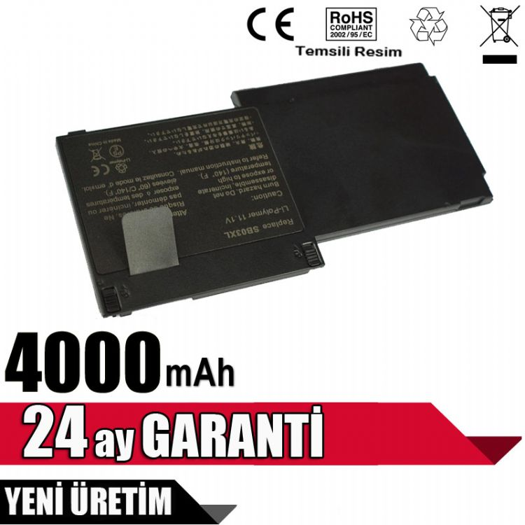 HP EliteBook 720 725 820 G1 G2  Batarya Pil HSTNN-IB4T 716726-1C1