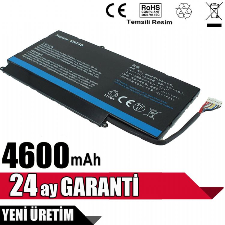 Dell Inspiron 14 5439, 5480 P41G P34F Batarya Pil