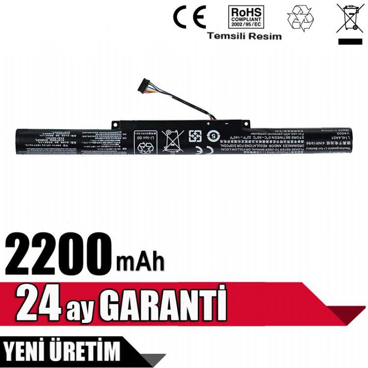 Lenovo IdeaPad 500-15ISK, Z51-70, L14S4E01 Batarya Pil