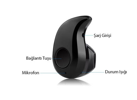 S530 MİNİ WİRELESS BLUETOOTH KULAKİÇİ KULAKLIK