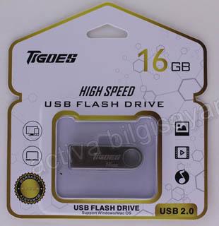 IGOES USB 2.0 16 GB USB BELLEK METAL GÜMÜŞ