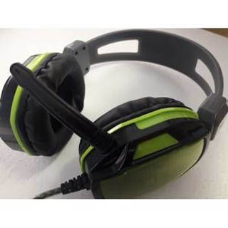Tigoes V3 Mikrofonlu Oyuncu Kulaklık Yeşil Renk