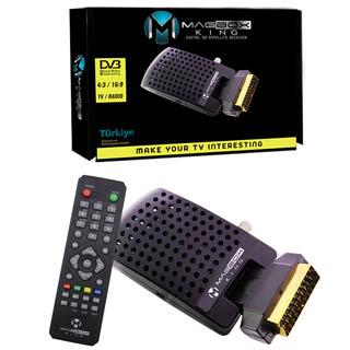 Magbox King Mini SD Scart Uydu Alıcısı